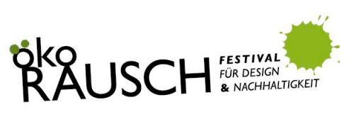 Logo ökoRAUSCH Festival für Design & Nachhaltigkeit