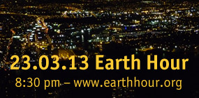 EarthHour 2013 Motiv: Naemi Reymann